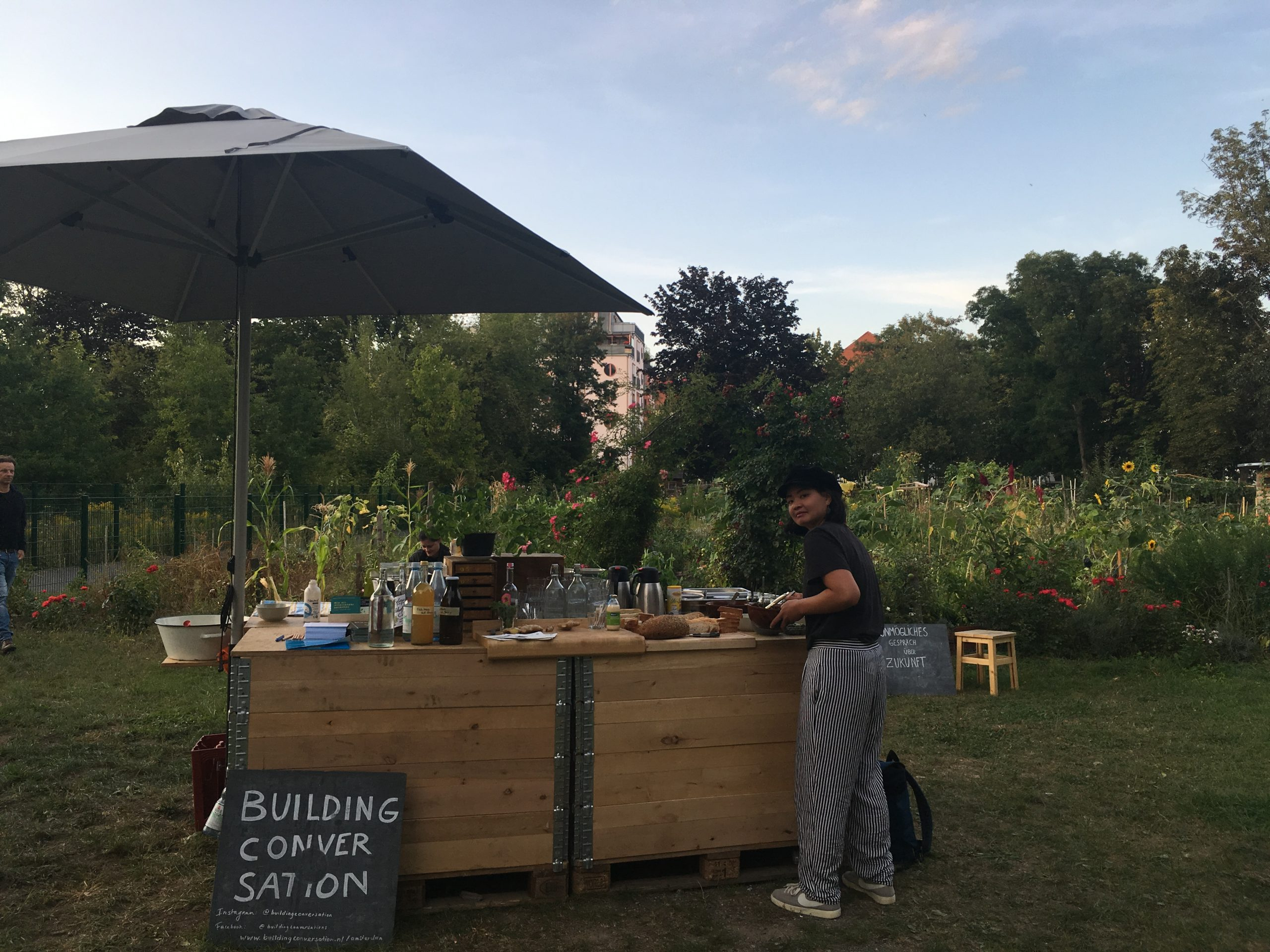 "Catering ""Building Conversations"" – 07/09/2019"