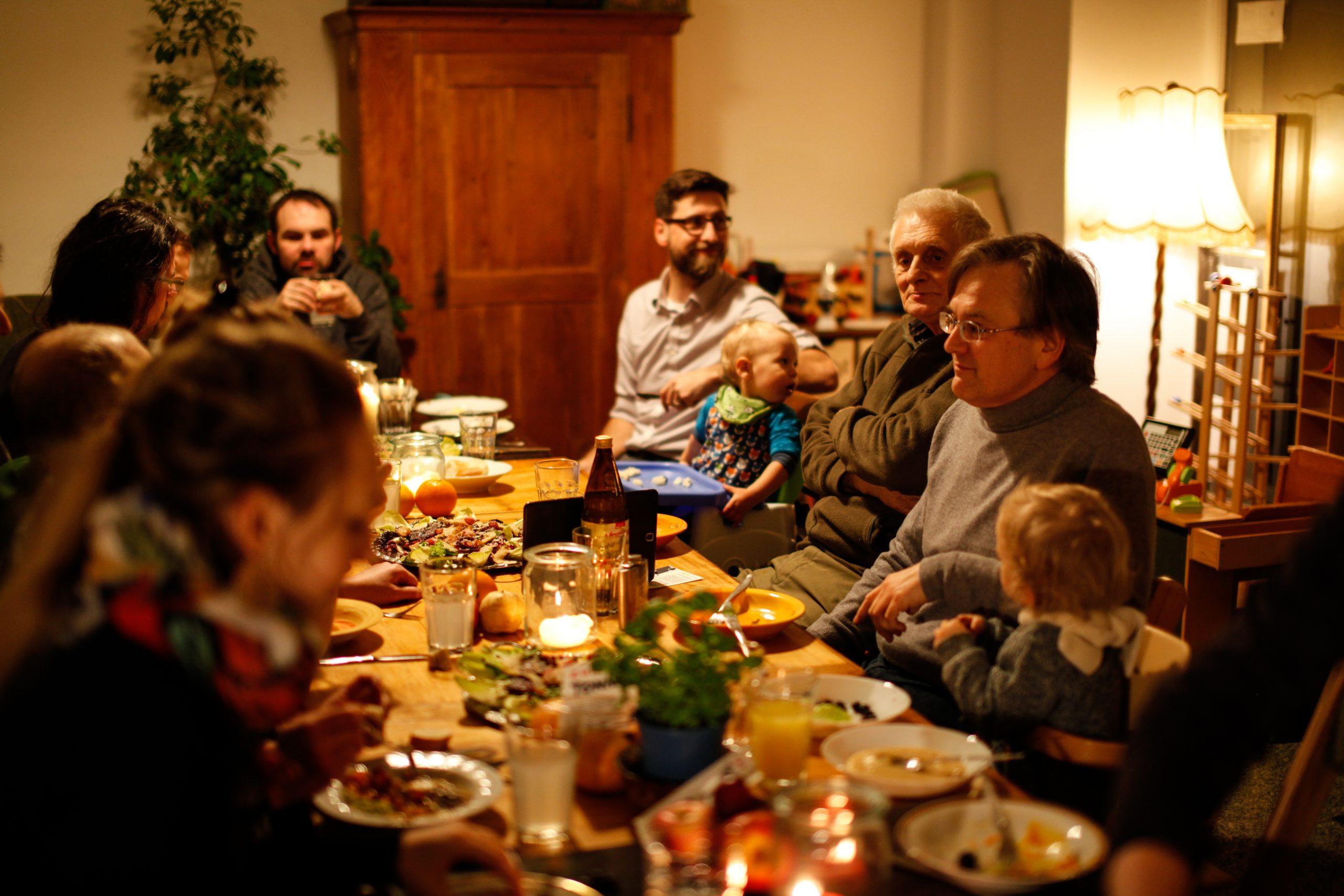 Zur Tonne auf Achse: Abendessen in der Zwickmühle
